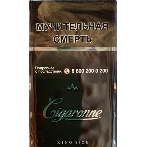 Сигареты cigaronne king size black купить сигареты оптом на фуд сити
