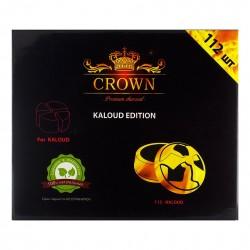 Уголь для кальяна Crown Kalaud 112 шт.