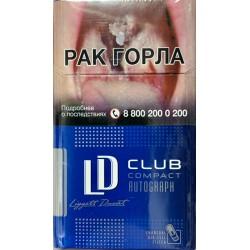 Сигареты ЛД Клаб Компакт Блю (LD Club Compact Blue)