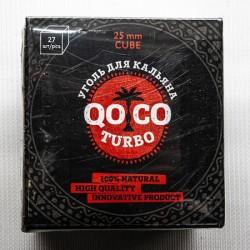 Уголь кокосовый QOCO TURBO 27 куб.