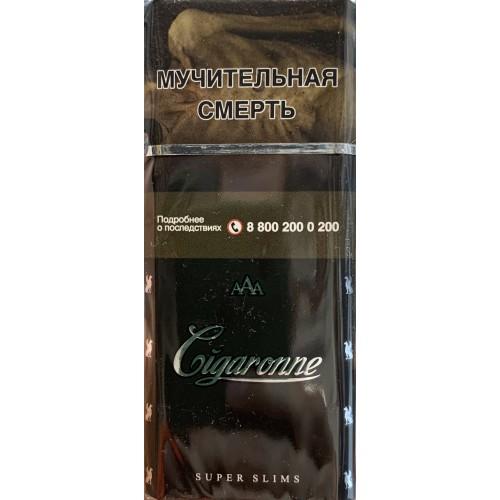 сигареты сигарон супер слим купить в москве