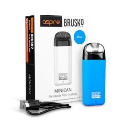 Электронная сигарета Brusko Minican 350 mah, Синий