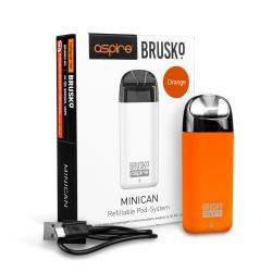 Электронная сигарета Brusko Minican 350 mah, Оранжевый