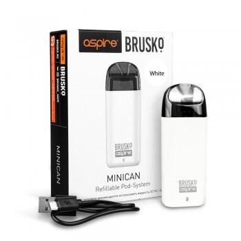 Электронная сигарета Brusko Minican 350 mah, Белый