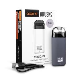 Электронная сигарета Brusko Minican 350 mah, Серый