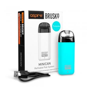 Электронная сигарета Brusko Minican 350 mah, Бирюзовый