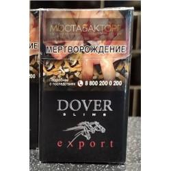 Сигареты Довер Чёрный Экспорт Слим (Dover Black Export Slims)