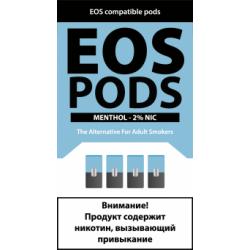 Картриджи EOS Pods Menthol (EOS Ментол)