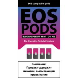 Картриджи EOS Pods Blue Raspberry Mint (EOS Малина Мята)