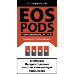 Картриджи EOS Pods Strawberry Watermelon (EOS Клубника Арбуз)