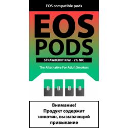 Картриджи EOS Pods Strawberry Kiwi (EOS Клубника Киви)