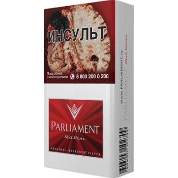Сигареты Парламент Ред Слимс (Parliament Red Slims - EVE)