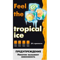 Картриджи Feel the Flavor Tropical Ice (Feel Тропический Лёд)