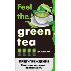 Картриджи Feel the Flavor Green Tea (Feel Зелёный Чай)