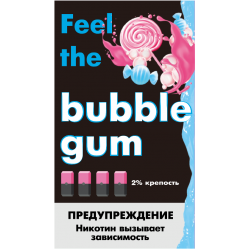 Картриджи Feel the Flavor Bubble Gum (Feel Жвачка)