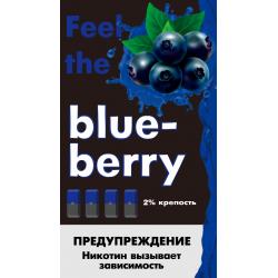 Картриджи Feel the Flavor Blueberry (Feel Черника)