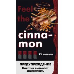 Картриджи Feel the Flavor Cinnamon (Feel Корица)