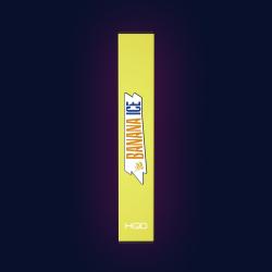 HQD STARK Banana Ice  (HQD Старк Банан)