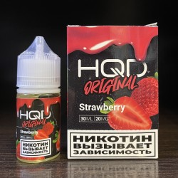 Жидкость HQD Original Strawberry / HQD Клубника