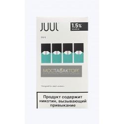 Картриджи для JUUL Mint (Джул Мята) 4шт 15мг