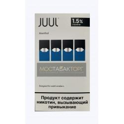 Картриджи для JUUL Menthol (Джул Ментол) 4шт 15мг
