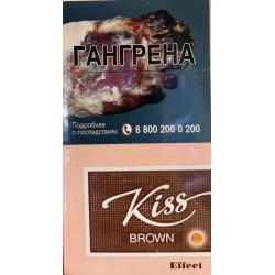 Сигареты KISS Brown