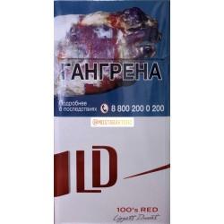 Сигареты ЛД Автограф 100 Красный (LD Autograph 100's Red)