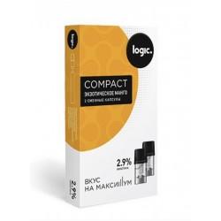 Капсулы logic compact Экзотичное Манго 2,9