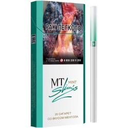 Сигареты MT Mint Slims (МТ Ментол)