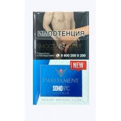 Сигареты Парламент Сохо Ник Аква Блю (Parliament SOHO NYC  Aqua Blue)