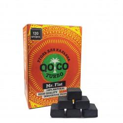 Уголь кокосовый QOCO TURBO Mr. Flat 120 куб.