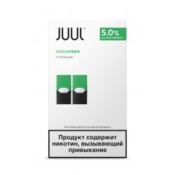 Картриджи для  JUUL Cucumber (Джул Огурец)