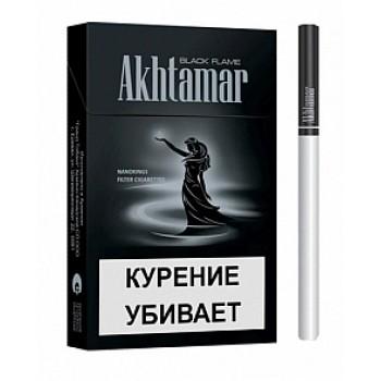 Ахтамар Блек Флем Нанокингс сигареты (Akhtamar Black Flame Nanokings 5.4/84)