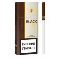 Сигареты Блэк Тип Слим (Black Tip Slims 6.2/100)