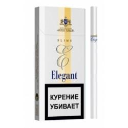 Сигареты Элегант Белый Слим (Elegant White Slims 6.2/100)