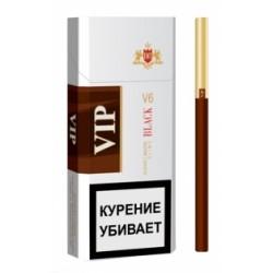 Сигареты Вип Блек Слим (Vip Black Slims 6.2/100)