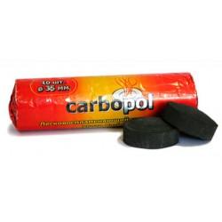 Уголь для кальяна CARBOPOL (Карбопол) 35 мм